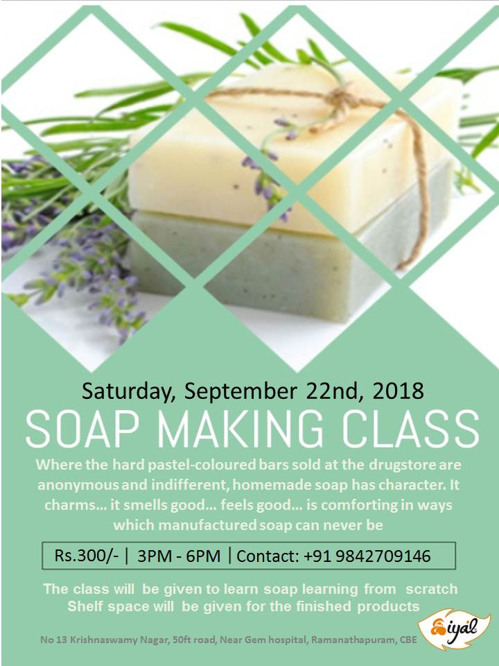 Soap Making Class - Simplicity