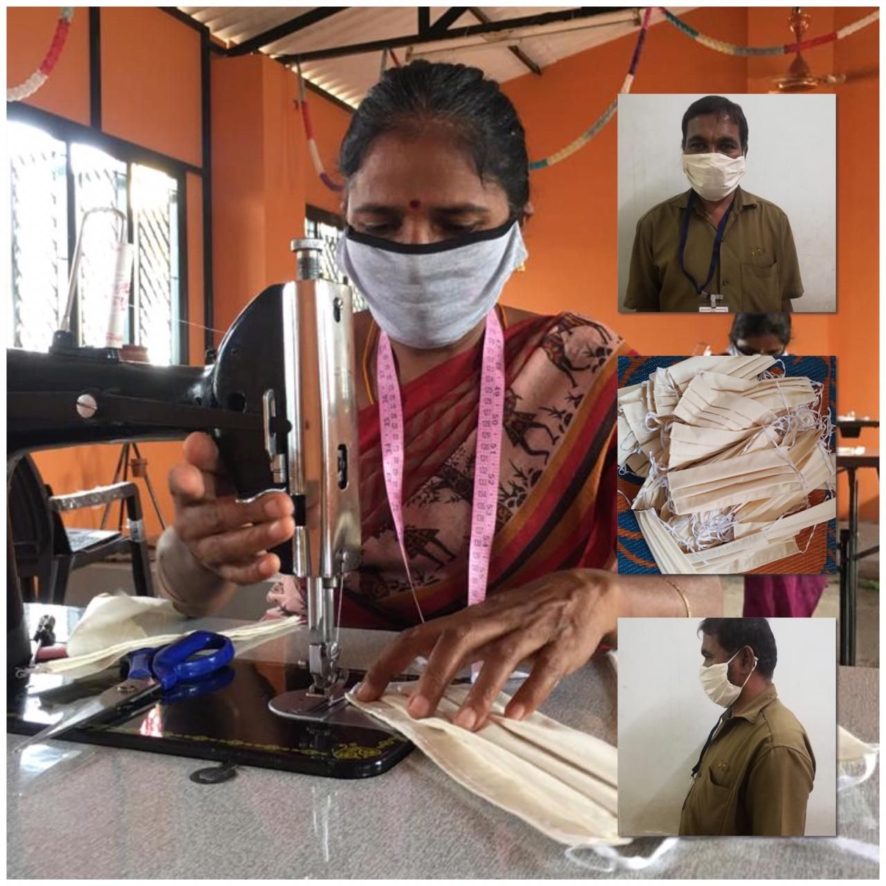 Women Self Help Groups Work Round The Clock To Stitch Quality Face Masks Simplicity
